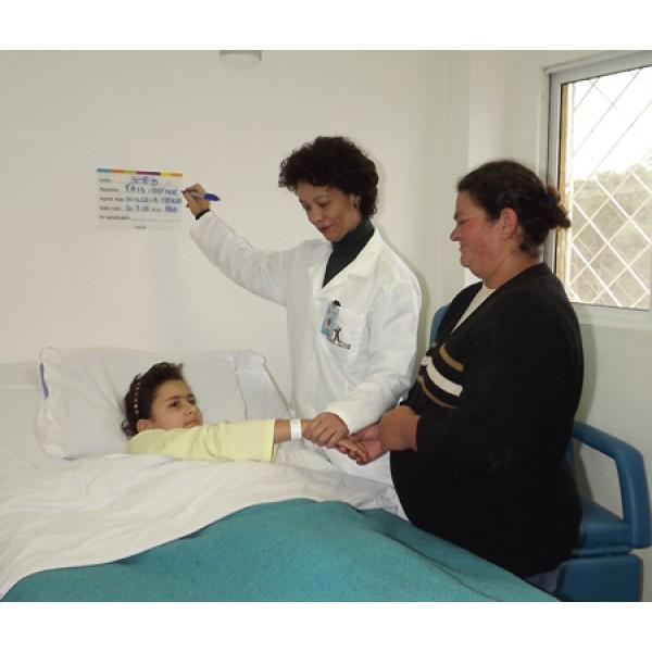 QUADRO DISPLAY BEIRA LEITO PARA CLÍNICAS E HOSPITAIS